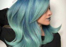 Blue black & γαλάζια μαλλιά: 30 εντυπωσιακές προτάσεις για το πιο δημοφιλές χρώμα της χρονιάς - Φώτο - Κυρίως Φωτογραφία - Gallery - Video 3