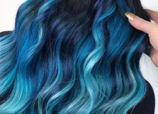 Blue black & γαλάζια μαλλιά: 30 εντυπωσιακές προτάσεις για το πιο δημοφιλές χρώμα της χρονιάς - Φώτο - Κυρίως Φωτογραφία - Gallery - Video 4