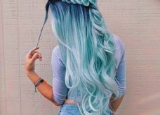 Blue black & γαλάζια μαλλιά: 30 εντυπωσιακές προτάσεις για το πιο δημοφιλές χρώμα της χρονιάς - Φώτο - Κυρίως Φωτογραφία - Gallery - Video 5