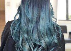 Blue black & γαλάζια μαλλιά: 30 εντυπωσιακές προτάσεις για το πιο δημοφιλές χρώμα της χρονιάς - Φώτο - Κυρίως Φωτογραφία - Gallery - Video 6