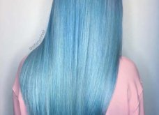 Blue black & γαλάζια μαλλιά: 30 εντυπωσιακές προτάσεις για το πιο δημοφιλές χρώμα της χρονιάς - Φώτο - Κυρίως Φωτογραφία - Gallery - Video 7