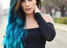 Blue black & γαλάζια μαλλιά: 30 εντυπωσιακές προτάσεις για το πιο δημοφιλές χρώμα της χρονιάς - Φώτο - Κυρίως Φωτογραφία - Gallery - Video 8