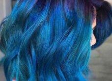 Blue black & γαλάζια μαλλιά: 30 εντυπωσιακές προτάσεις για το πιο δημοφιλές χρώμα της χρονιάς - Φώτο - Κυρίως Φωτογραφία - Gallery - Video 9