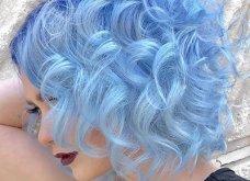 Blue black & γαλάζια μαλλιά: 30 εντυπωσιακές προτάσεις για το πιο δημοφιλές χρώμα της χρονιάς - Φώτο - Κυρίως Φωτογραφία - Gallery - Video 10