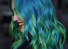 Blue black & γαλάζια μαλλιά: 30 εντυπωσιακές προτάσεις για το πιο δημοφιλές χρώμα της χρονιάς - Φώτο - Κυρίως Φωτογραφία - Gallery - Video 11