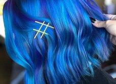 Blue black & γαλάζια μαλλιά: 30 εντυπωσιακές προτάσεις για το πιο δημοφιλές χρώμα της χρονιάς - Φώτο - Κυρίως Φωτογραφία - Gallery - Video 12