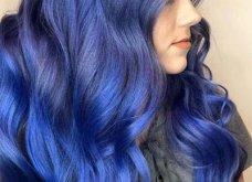 Blue black & γαλάζια μαλλιά: 30 εντυπωσιακές προτάσεις για το πιο δημοφιλές χρώμα της χρονιάς - Φώτο - Κυρίως Φωτογραφία - Gallery - Video 14