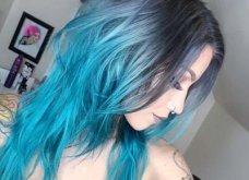 Blue black & γαλάζια μαλλιά: 30 εντυπωσιακές προτάσεις για το πιο δημοφιλές χρώμα της χρονιάς - Φώτο - Κυρίως Φωτογραφία - Gallery - Video 17