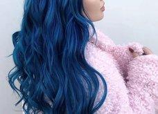 Blue black & γαλάζια μαλλιά: 30 εντυπωσιακές προτάσεις για το πιο δημοφιλές χρώμα της χρονιάς - Φώτο - Κυρίως Φωτογραφία - Gallery - Video 18