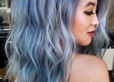 Blue black & γαλάζια μαλλιά: 30 εντυπωσιακές προτάσεις για το πιο δημοφιλές χρώμα της χρονιάς - Φώτο - Κυρίως Φωτογραφία - Gallery - Video 19