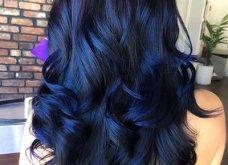 Blue black & γαλάζια μαλλιά: 30 εντυπωσιακές προτάσεις για το πιο δημοφιλές χρώμα της χρονιάς - Φώτο - Κυρίως Φωτογραφία - Gallery - Video 21