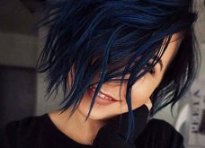 Blue black & γαλάζια μαλλιά: 30 εντυπωσιακές προτάσεις για το πιο δημοφιλές χρώμα της χρονιάς - Φώτο - Κυρίως Φωτογραφία - Gallery - Video 22