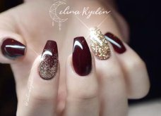 "Ballerina nails: 48 ""ονειρεμένα"" σχέδια για το πιο εκθαμβωτικό μανικιούρ για τον Φεβρουάριο! Φώτο      - Κυρίως Φωτογραφία - Gallery - Video 12"