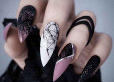 Νύχια στιλέτο: 43 εντυπωσιακά σχέδια για το πιο εκπληκτικό μανικιούρ - Φώτο - Κυρίως Φωτογραφία - Gallery - Video 35