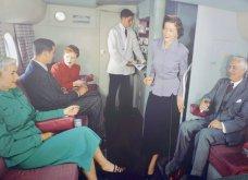 Vintage pics που εκπλήσσουν: Επιβάτες στην πρώτη θέση Boeing του 1947 – Κουβερτούλα, περιοδικό & πλένουν δοντάκια - Κυρίως Φωτογραφία - Gallery - Video 7