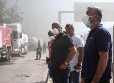 Σε εξέλιξη πυρκαγιά σε εργοστάσιο πλαστικών στη Μεταμόρφωση -Ισχυρές εκρήξεις & μαύρος καπνός - Δείτε φωτό   - Κυρίως Φωτογραφία - Gallery - Video 4