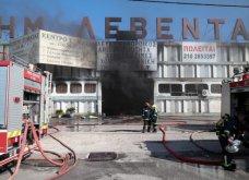 Σε εξέλιξη πυρκαγιά σε εργοστάσιο πλαστικών στη Μεταμόρφωση -Ισχυρές εκρήξεις & μαύρος καπνός - Δείτε φωτό   - Κυρίως Φωτογραφία - Gallery - Video 5