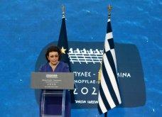 Πρόεδρος Σακελλαροπούλου, Πρωθυπουργός & Μαρέβα, Μαρ. Βαρδινογιάννη στα 2.500  χρόνια από τη μάχη Θερμοπυλών & τη ναυμαχία Σαλαμίνας  - Κυρίως Φωτογραφία - Gallery - Video 7