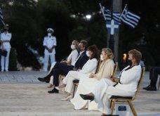 Πρόεδρος Σακελλαροπούλου, Πρωθυπουργός & Μαρέβα, Μαρ. Βαρδινογιάννη στα 2.500  χρόνια από τη μάχη Θερμοπυλών & τη ναυμαχία Σαλαμίνας  - Κυρίως Φωτογραφία - Gallery - Video 5