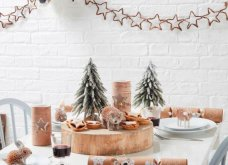 Πρωτότυπες - glam - μίνιμαλ - όλες υπέροχες - 27 ιδέες διακόσμησης που θα μεταφέρουν τη μαγεία των Χριστουγέννων στο τραπέζι σας (φώτο) - Κυρίως Φωτογραφία - Gallery - Video