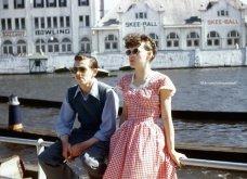 Ο έρωτας το 1940: Σπάνιες έγχρωμες φωτογραφίες ζευγαριών - Φορούν τα καλά τους και βγαίνουν ραντεβού.... - Κυρίως Φωτογραφία - Gallery - Video 2