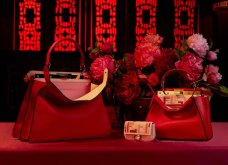 """Απλά υπέροχες! - Οι τσάντες Fendi αφιερωμένες στην κινέζικη Πρωτοχρονιά - Η Αμάλ Κλούνεϊ - η Ράνια της Ιορδανίας & η Μέγκαν είναι """"fan"""" του διάσημου οίκου (φώτο) - Κυρίως Φωτογραφία - Gallery - Video"""