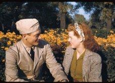 Ο έρωτας το 1940: Σπάνιες έγχρωμες φωτογραφίες ζευγαριών - Φορούν τα καλά τους και βγαίνουν ραντεβού.... - Κυρίως Φωτογραφία - Gallery - Video