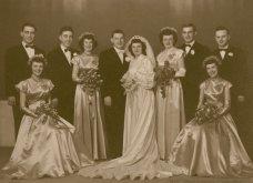 Γάμος εν καιρώ πολέμου: Έτσι ήταν οι νύφες το 1940 - Άλλες με μακριά φουστάνια και πέπλα & άλλες με απλά φορέματα (φωτό) - Κυρίως Φωτογραφία - Gallery - Video 2