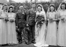 Γάμος εν καιρώ πολέμου: Έτσι ήταν οι νύφες το 1940 - Άλλες με μακριά φουστάνια και πέπλα & άλλες με απλά φορέματα (φωτό) - Κυρίως Φωτογραφία - Gallery - Video 10
