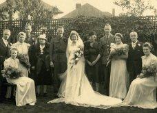 Γάμος εν καιρώ πολέμου: Έτσι ήταν οι νύφες το 1940 - Άλλες με μακριά φουστάνια και πέπλα & άλλες με απλά φορέματα (φωτό) - Κυρίως Φωτογραφία - Gallery - Video 6