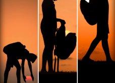 Απίθανα κλικς φωτογράφου: Τραβά ανθρώπους στο ηλιοβασίλεμα - Κατάμαυρες σιλουέτες με φόντο έναν μαγικό, πορτοκαλί ουρανό  - Κυρίως Φωτογραφία - Gallery - Video 2