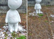 Ιάπωνας καλλιτέχνης φτιάχνει απίθανα γλυπτά από χιόνι: Σμιλεύει τις φιγούρες του Godzilla και των Minions (φωτό) - Κυρίως Φωτογραφία - Gallery - Video 7