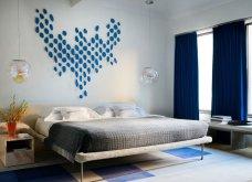 14 ονειρεμένα υπνοδωμάτια για να κλέψουμε ιδέες: Statement - πίνακες, κουρτίνες και μονοχρωματικά στυλ (φωτό) - Κυρίως Φωτογραφία - Gallery - Video 10