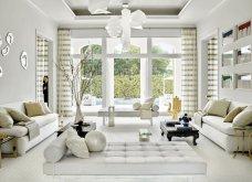 Βρες τις κατάλληλες κουρτίνες για το σαλόνι σου: Χρωματιστές ή λευκές, μοντέρνες ή παραδοσιακές (φωτό) - Κυρίως Φωτογραφία - Gallery - Video 9