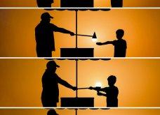 Απίθανα κλικς φωτογράφου: Τραβά ανθρώπους στο ηλιοβασίλεμα - Κατάμαυρες σιλουέτες με φόντο έναν μαγικό, πορτοκαλί ουρανό  - Κυρίως Φωτογραφία - Gallery - Video 6