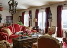 Βρες τις κατάλληλες κουρτίνες για το σαλόνι σου: Χρωματιστές ή λευκές, μοντέρνες ή παραδοσιακές (φωτό) - Κυρίως Φωτογραφία - Gallery - Video 12