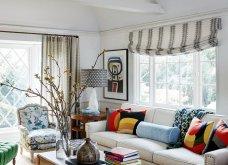 Βρες τις κατάλληλες κουρτίνες για το σαλόνι σου: Χρωματιστές ή λευκές, μοντέρνες ή παραδοσιακές (φωτό) - Κυρίως Φωτογραφία - Gallery - Video 14