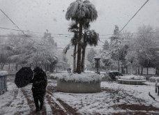 Εντυπωσιακές εικόνες από την χιονισμένη Αθήνα: Η κακοκαιρία «Μήδεια» έντυσε στα λευκά την Αττική (βίντεο) - Κυρίως Φωτογραφία - Gallery - Video