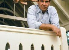 Vintage εικόνες από τον κούκλο Harrison Ford να ποζάρει στην βίλα του στο Beverly Hills το 1984 - Κυρίως Φωτογραφία - Gallery - Video 4