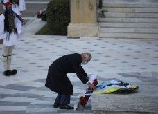 Μεγάλη συγκίνηση όταν παιάνισαν οι Εθνικοί Ύμνοι Ελλάδας, Κύπρου, Ηνωμένου Βασιείου, Ρωσίας και Γαλλίας - Στην κατάθεση στεφάνων  (βίντεο) - Κυρίως Φωτογραφία - Gallery - Video 2