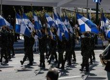 Καρέ - Καρέ η ιστορική στρατιωτική παρέλαση για την εθνική επέτειο της 25ης Μαρτίου - Φάλαγγες και έφιπποι - F-16, Rafale και Voyager πέταξαν στον ουρανό  - Κυρίως Φωτογραφία - Gallery - Video