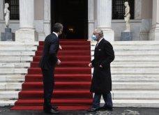 Μέγαρο Μαξίμου: Συνάντηση του πρωθυπουργού Κυριάκου Μητσοτάκη με τον πρίγκιπα Κάρολο - ''Είμαι πολύ χαρούμενος που καταφέρατε να έρθετε & παρακολουθήσατε την παρέλαση'' - Κυρίως Φωτογραφία - Gallery - Video 7