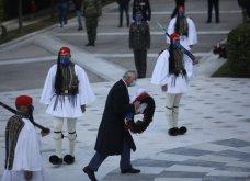 Μεγάλη συγκίνηση όταν παιάνισαν οι Εθνικοί Ύμνοι Ελλάδας, Κύπρου, Ηνωμένου Βασιείου, Ρωσίας και Γαλλίας - Στην κατάθεση στεφάνων  (βίντεο) - Κυρίως Φωτογραφία - Gallery - Video 7
