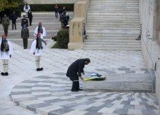 Μεγάλη συγκίνηση όταν παιάνισαν οι Εθνικοί Ύμνοι Ελλάδας, Κύπρου, Ηνωμένου Βασιείου, Ρωσίας και Γαλλίας - Στην κατάθεση στεφάνων  (βίντεο) - Κυρίως Φωτογραφία - Gallery - Video 10