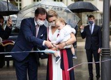 Όλα τα βλέμματα στον μικρό πρίγκιπα Κάρολο του Λουξεμβούργου - Υπέρκομψη & περήφανη μητέρα  η πριγκίπισσα Στεφανί  (φώτο) - Κυρίως Φωτογραφία - Gallery - Video 5