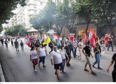 Πανελλαδική απεργία: Παρέλυσε η Θεσσαλονίκη - Συγκεντρώσεις, κυκλοφοριακές ρυθμίσεις , πως θα κυκλοφορούν τα λεωφορεία του ΟΑΣΘ (φωτό) - Κυρίως Φωτογραφία - Gallery - Video 9