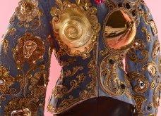 Ο haute couture «Ταυρομάχος» του Schiaparelli: Περίτεχνα κεντήματα, απίθανα χρώματα, χρυσό, ασήμι - μια εξτραβαγκάντ κολεξιόν (φωτό & βίντεο) - Κυρίως Φωτογραφία - Gallery - Video 4