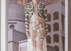 """Όνειρο υψηλής ραπτικής η  Extravagant κολεξιόν του οίκου Fendi - Η εντυπωσιακή επίδειξη με ρούχα εμπνευσμένα από την """"Αιώνια πόλη""""  (φώτο-βίντεο) - Κυρίως Φωτογραφία - Gallery - Video 8"""