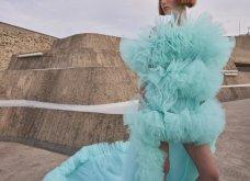 Η γοητεία του απρόβλεπτου στη νέα haute couture κολεξιόν του Giambattista Valli: Τούλινα φορέματα, τουαλέτες από σιφόν (φωτό & βίντεο)  - Κυρίως Φωτογραφία - Gallery - Video 6