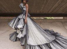 Η γοητεία του απρόβλεπτου στη νέα haute couture κολεξιόν του Giambattista Valli: Τούλινα φορέματα, τουαλέτες από σιφόν (φωτό & βίντεο)  - Κυρίως Φωτογραφία - Gallery - Video 26